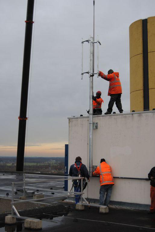 Antenne op Kruytgebouw