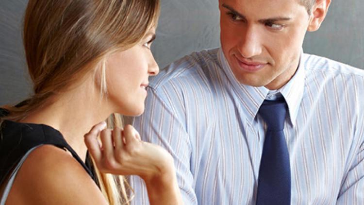 flirten met docent